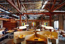 Restaurant & Bar Interiors / Interior design of hospitality environments, for your inspiration.