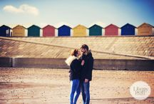 Devon Beach Pre-Wedding Shoot / Such a lovely day on the beautiful Dawlish warren Beach in Devon this week. I love the couple's ideas for this pre wedding shoot, the colourful baloons were great!!!