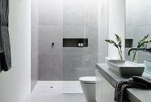 Bathroom Tiles / inspiration on how to decorate your bathroom with tiles.