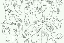 referencias de manos dibujo