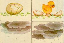 kylling historie 4 billeder