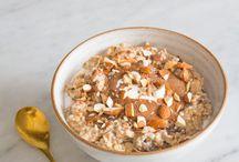 Plant based gluten-free detox breakfasts