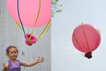 hot air balloon crafts