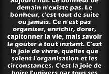 La vie / Citation