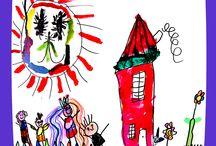 cursisten en leerlingen van kunst en tekenwerk / Hier wordt werk van cursisten en leerlingen van kunst en tekenwerk laten zien. Er is teken-en schilderles voor kinderen en jongeren 6-18 jaar, realistisch tekenen en schilderen voor volwassenen, illustreren en tekenen voor volwassenen. Ook voorbeelden van workshops op maat voor verschillende leeftijden en diverse gelegenheden.