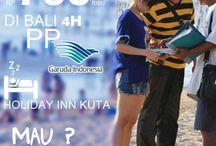 Cuma Rp 700rb ke BAli 4H / MAU ? Call 0213907576 or email Inbound@astrindotour.co.id
