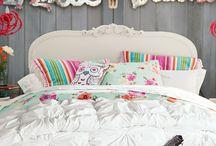Girl's Bedding/Bedroom