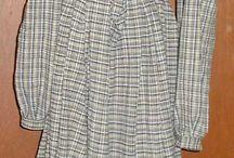 1800 Prairie dresses