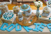 Milk & Cookies {Fiestas Temáticas} / Inspiración para organizar una fiesta de leche, batido y galletas. / by My Little Party Fiestas con Estilo