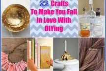 DIY / Easy fun DIY crafts