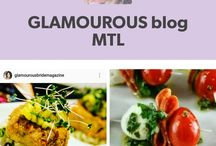 GLAMOUROUS BLOG MTL / montreal blogger/ magazine advertisers /wedding show/GLAMOUROUS events /  paper print Glamourous Folders