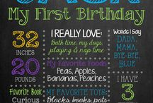 Camden first bday / by Stephani Crozier