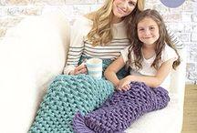Mermaid Tail Blanket Patterns