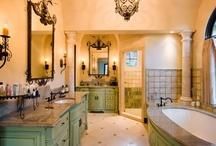 Design ♦ Bathrooms / by Karen Boisselle Resinski