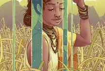 ART / illustrations, drawings, water color paintings. / by Thirumalai Cumbum
