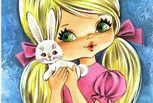 Bambine illustrazioni