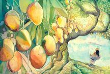 Ilustraciones tropicales