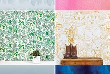 Pantone & Pattern Inspiration / Inspiring patone & pattern ideas for design adventures - home, pattern, modern, layout, art, wallpaper, tribal, vintage, floral, drawing, simple, color, vibrant