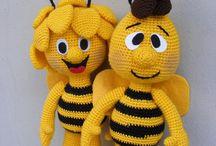 crochet toys etc.