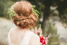 ♡ wedding - hair