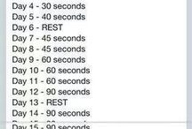 A gradual plank challenge