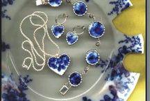 biżuteria z porcelany