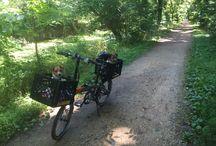 Summer Bike Trip C&O Trail Inspiration