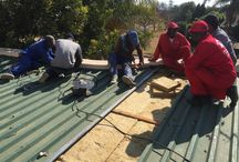 Corrugated Iron Roofs / We also work with corrugated iron roofs. We can clean, as well as fit new insulation.