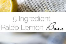 lemon bar paleo