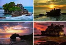 Bali Monuments and Landmarks / Board for some iconic monuments and landmarks that exist on BALI Island