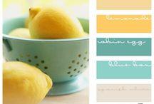 Color Schemes / by Shawanda Robinson
