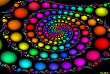 Color my world rainbow bright / by Joyce Poppen