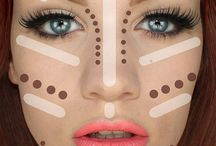 Make up / Face contouring  / by San Hennessy