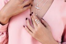 Shop VivaLuxury Jewelry / Unique fashion & fine jewelry by Annabelle Fleur. Cute stackable rings, simple & statement necklaces, studs & dangle earrings, pearl ear jackets & ear cuffs.