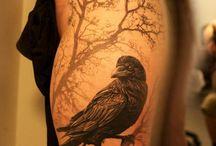raven/crow tat
