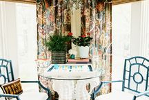 Breakfast Rooms {banquettes & brunch}