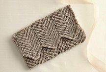crochet clutch, bag, purse