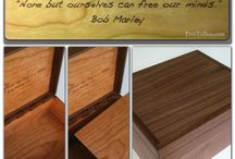 Letter box  / Personalized letter box with hinge