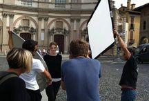 Shooting nuova campagna pubblicitaria / Tra cipria e scatti di Reflex, ecco le foto rubate alla nuova campagna pubblicitaria di Salmoiraghi & Viganò. Seguiteci!