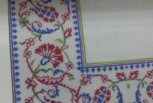 Çini motifleri  nakış