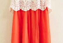 Montagem de um vestido