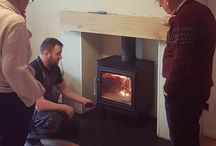 Mr Stove Installations / Photos of our previous wood burning stoves installations.