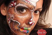 Christmas Face & Body Paint Inspiration