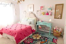 Chloe's Mermaid Inspired Big Girl Room / A bright, cheery spot for a mermaid loving 3 year old.