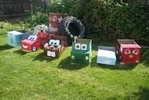 Cars/Toy Story/etc parties / by Jennifer Michaelis