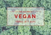 The Ultimate Vegan Gift Guide / Here are my favourite gift ideas for this year that every vegan from staunch advocate to healthy lifestyle guru will be sure to love.
