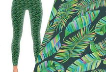 ❤️ Vibrant Printed Leggings ❤️ / Bold, Vibrant Leggings & Yoga Pants. Eccentric Patterns For Women Who Aren't Afraid to Stand Out.