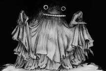 Spooky Rockitt / Creepy style, tim burton, mummi, etc