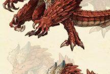 mostruos, dragones y mitologia