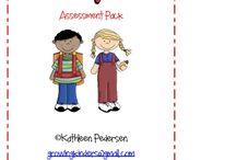 Kindergarten Assessments / by Sarah Walloch